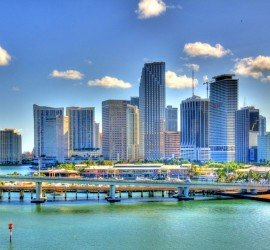 Downtown Miami. Image by Nigel Morris